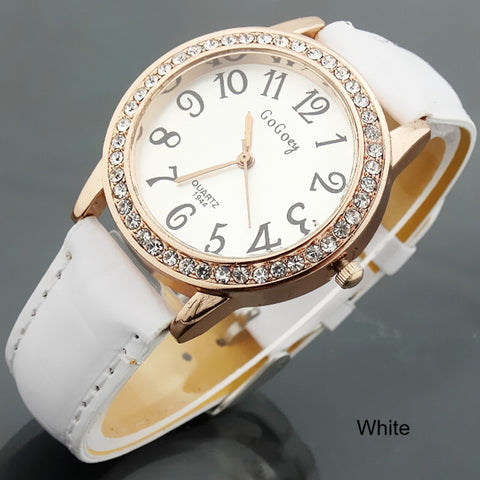 Watch-Ladies Quartz Watches Rhinestone Crystal