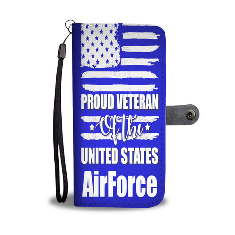 US Air Force Veteran wallet phone case