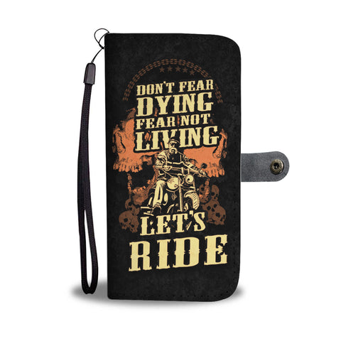 Live & Ride wallet phone case