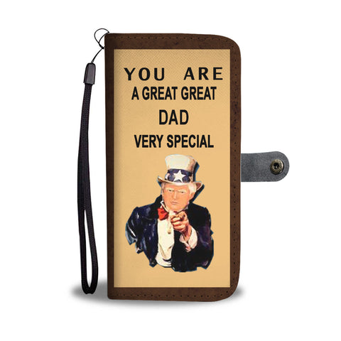 Trump gift dad wallet phone case