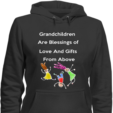 Blessings of Love & Gifts from Above Hoodies