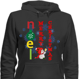 Christmas-Noel Merry Christmas Hoodies