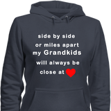 Close At Heart Grandkids Hoodies