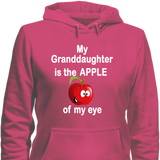 Apple of my eye Granddaughter Hoodies