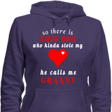 Boy stole my heart Hoodies