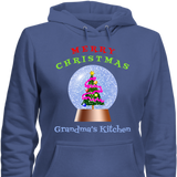 Christmas-Snowglobe Grandma's Kitchen Christmas Hoodies