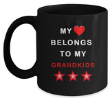 My Heart Belongs Mug