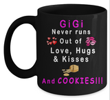 Love Hugs Kisses Mug