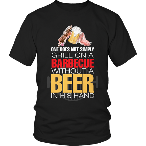 Limited Edition - Without A Beer In His Hand-BLACK