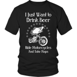 Drink Beer Ride Motorcycles