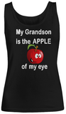 Apple of my eye-Grandson- Women Tank Tops