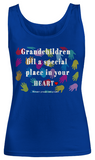 Grandchildren Fill A Special Place-Women Tank Top