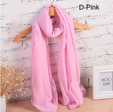 Special OFFER Scarves-18 Long Cotton Candy Colors Shawl 18 Colors Warm Soft Women Muffler