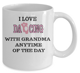 I Love....with Grandma  Mug