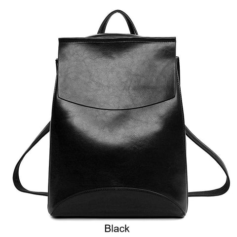 Backpacks- Women-Teens High Quality Leather Backpack