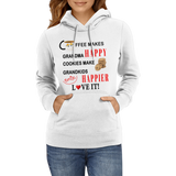 Coffee Cookies Happy Grandkids Hoodies