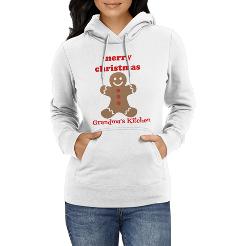 Christmas-Gingerbread Grandma's Kitchen Christmas Hoodies