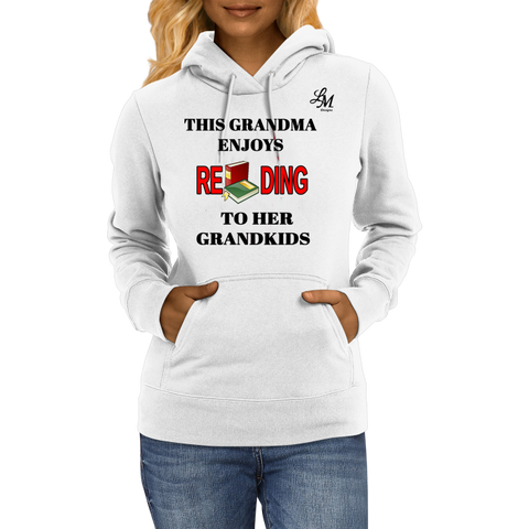 This Grandma Enjoys Reading Hoodie