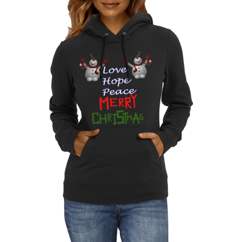 Christmas-Love Hope Peace Christmas Hoodies