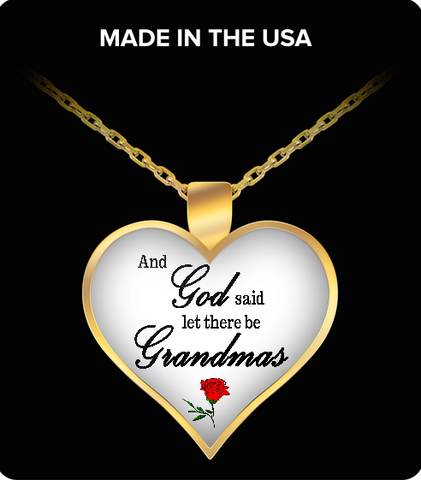 Pendant Necklaces Grandmas2RedRoses