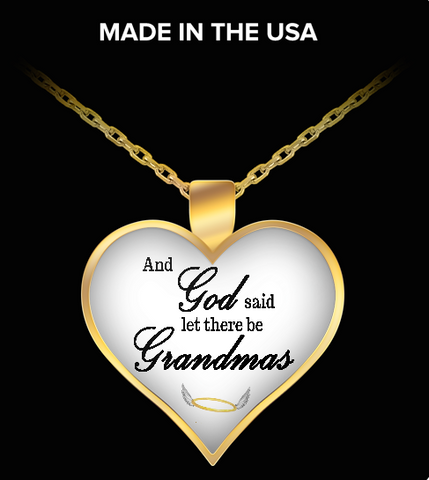 Pendant Necklaces GrandmasAngelWings