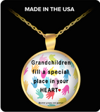 Pendant Necklaces Grandchildren Fill A Special Place