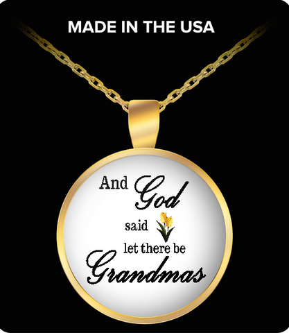 Pendant Necklaces GrandmasTulip
