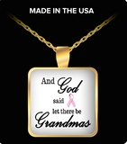 Pendant Necklaces GrandmasPinkRibbon