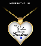 Pendant Necklaces GrandmasBlueStar