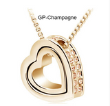 FREE OFFER Pendant Necklace-Silver & Gold Plated Jewelry Crystal Pendants