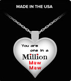 Pendant Necklaces One In A Million