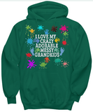 Adorable,Crazy,Messy Hoodies