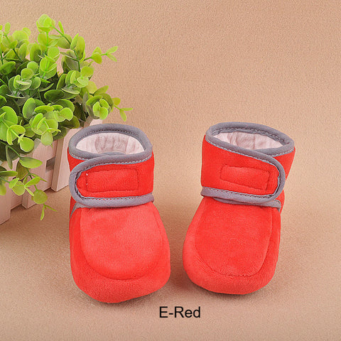 Baby-Lovely Winter Warm Baby Cotton Padded Shoes