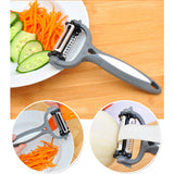 Kitchen-Multifunctional 360 Degree Rotary Carrot Potato Peeler