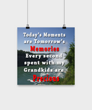 Posters-Precious Memories - By The Falls Scenery