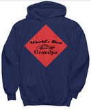 World's Best Grandpa- Hoodies