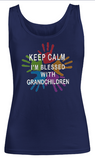 Keep Calm I'm blessed-Women Tank Top