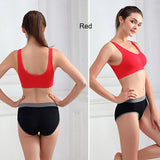 Sport Bras- Women Padded Seamless Vest Tops  Sports Bra