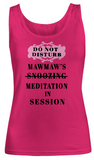 Meditation In Session-MawMaw-Women Tank Top