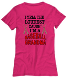 Baseball Grandma-WomenT-Shirts