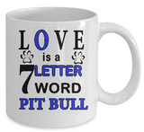 Love Lettters Dogs  Mug