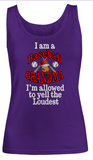 Baseball Grandma- Women Tank Tops