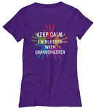 Keep Calm I'm Blessed-Women T-Shirts
