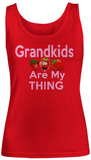 Grandkids are my thing-Strawberry- Women Tank Tops