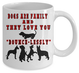 Dogs Are Family Mug