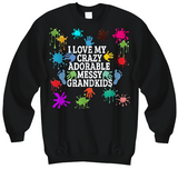 Adorable,Crazy,Messy Sweatshirts