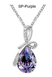Pendant Necklace-Crystal Necklaces & Pendants Silver And Gold Plated