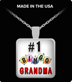 Pendant Necklaces #1 Bingo Grandma
