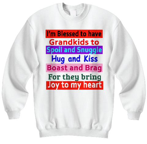 Joy To My Heart Sweatshirts