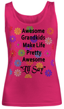 Awesome Grandkids- Women Tank Tops